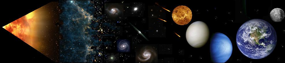 a description of the big bang as a cosmological model of the universe There is a phase before the big bang in this cosmological model, and it is  possible to know about that phase of the universe by studying the.